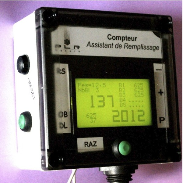 RDFA meter – Remote Display Filling Assistant meter